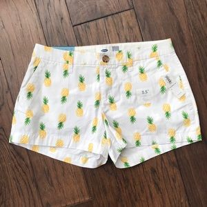 Old Navy Pineapple Shorts